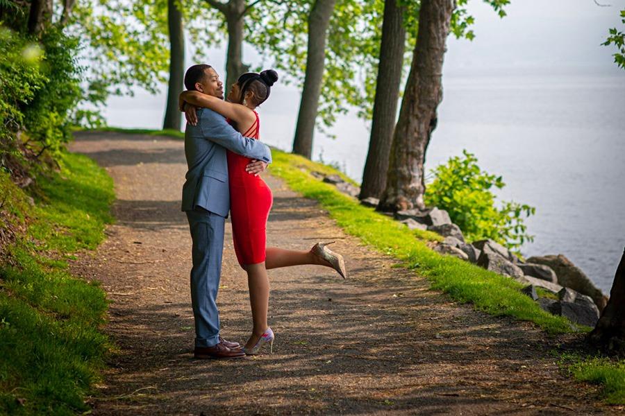 Photos de fiançailles de mariage