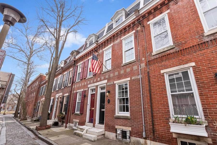 open houses philadelphia wash west bradford alley rowhouse