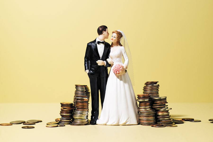 separate finances marriage