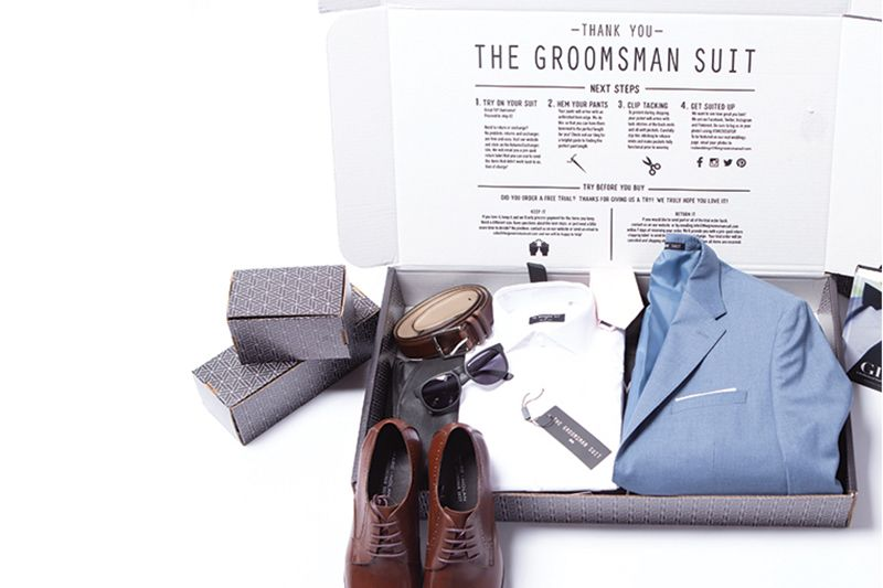 the groomsman suit