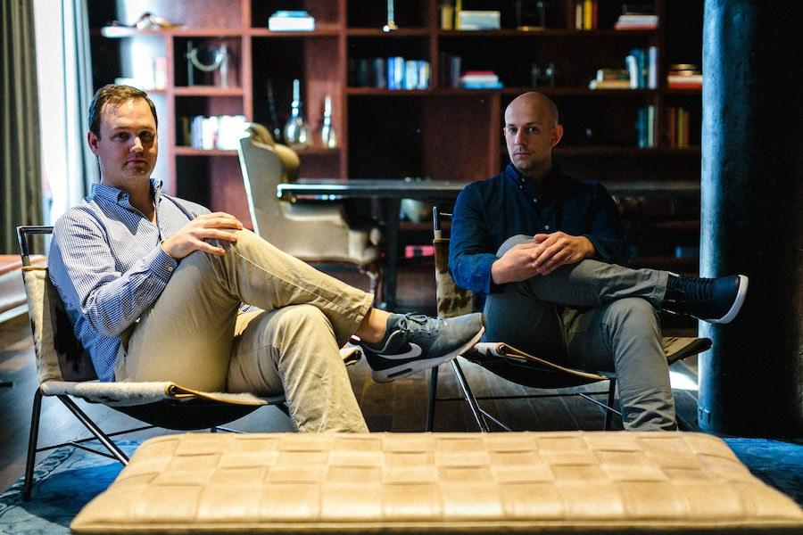 prevu co-founders thomas kutzman and chase marsh