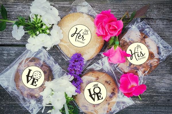 famous cookies wedding favor