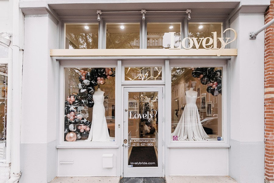 Lovely Bride Philly storefront