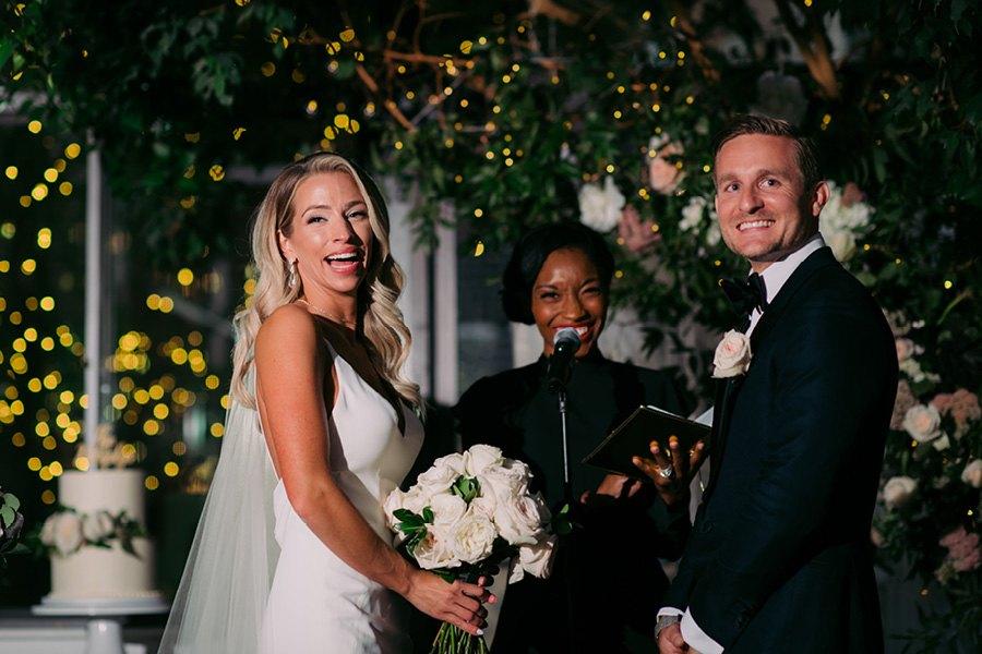Married by Rev. Roxy