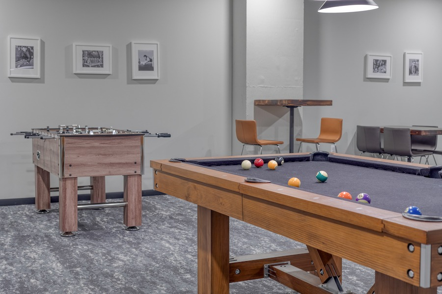 common civic game room