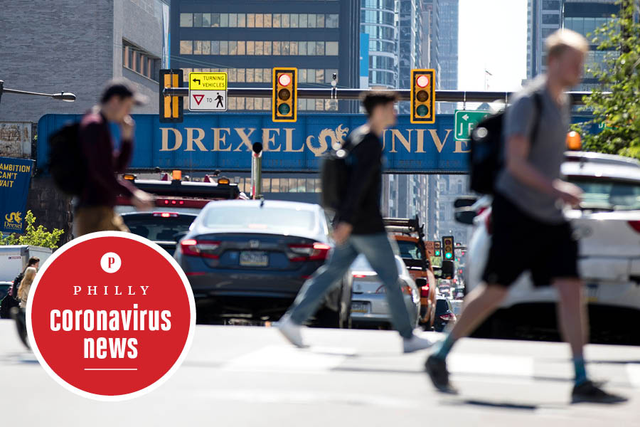 drexel campus in philadelphia before the coronavirus hit campus, which is now closed, leading to a lawsuit