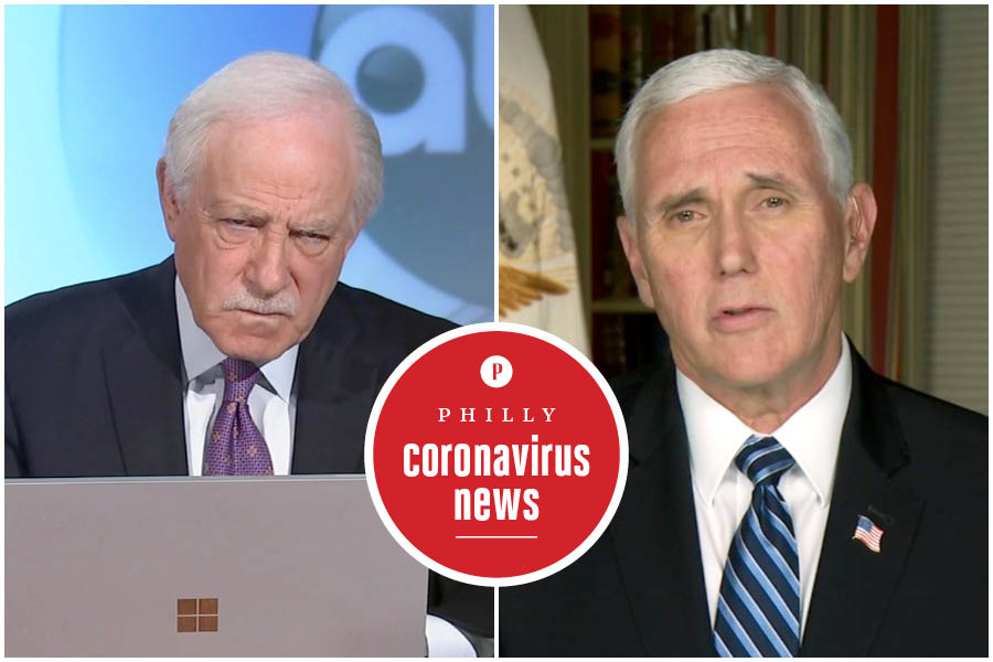 Jim Gardner interviews Mike Pence about the Philadelphia coronavirus crisis