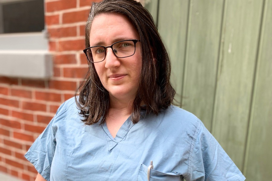 penn surgeon elinore kaufman, who worries about a lack of appendectomies and a surge in shootings during the philadelphia coronavirus crisis