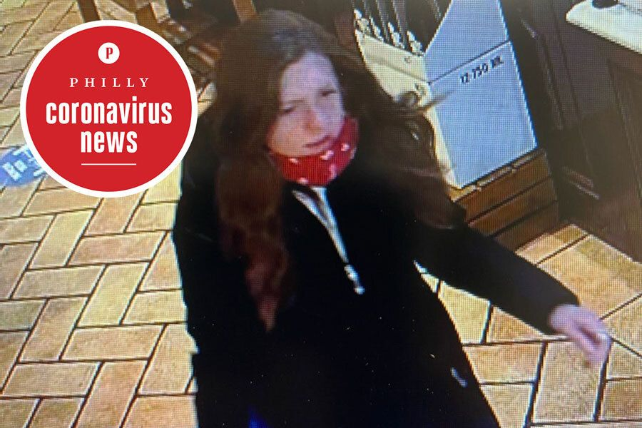 philadelphia police say this woman is the di bruno bros spitter