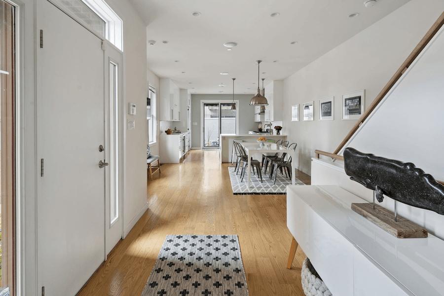 foyer and main floor