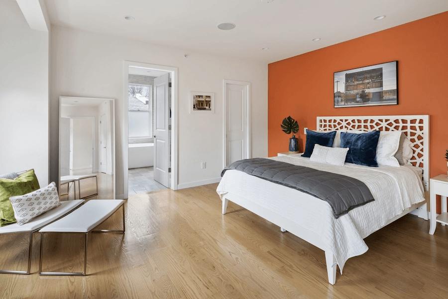 bella vista modern rowhouse for sale master bedroom