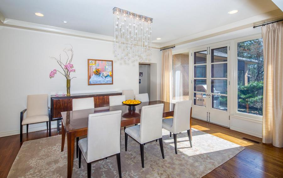 house for sale bryn mawr midcentury ranch dining room