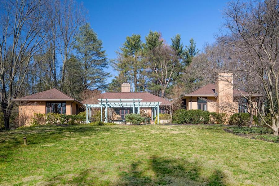 house for sale bryn mawr midcentury ranch exterior rear