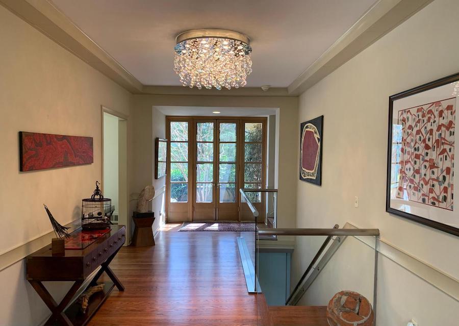 house for sale bryn mawr midcentury ranch foyer