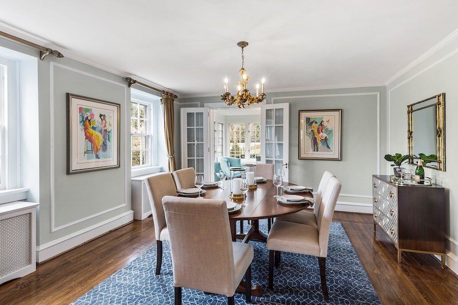 house for sale updated bryn mawr colonial house for sale dining room