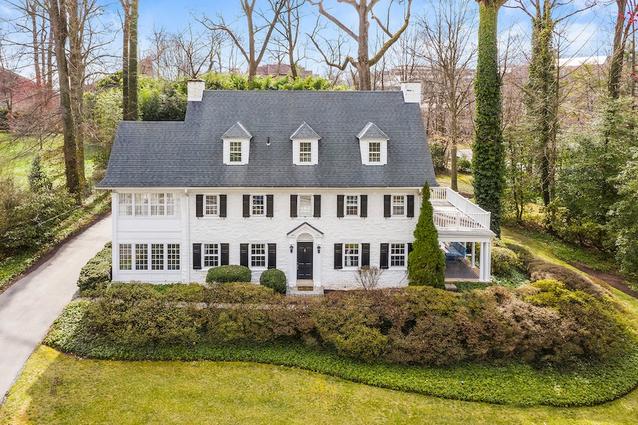 house for sale updated bryn mawr colonial house for sale exterior front