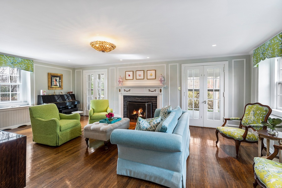 house for sale updated bryn mawr colonial house for sale living room