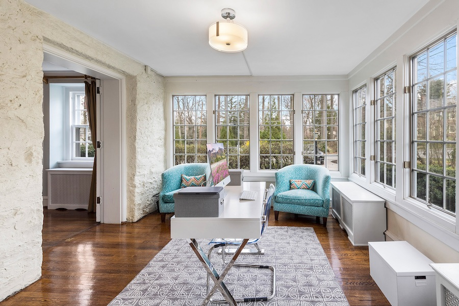 house for sale updated bryn mawr colonial house for sale sunroom