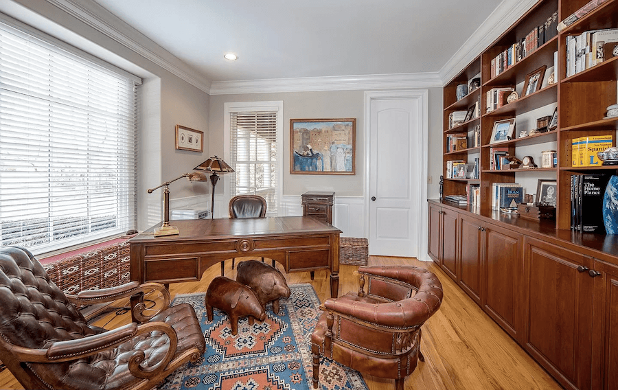 house for sale gladwyne neotraditional home office