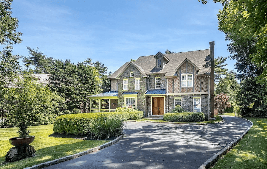 house for sale gladwyne neotraditional exterior front