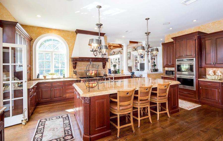 gladwyne georgian revival house for sale kitchen