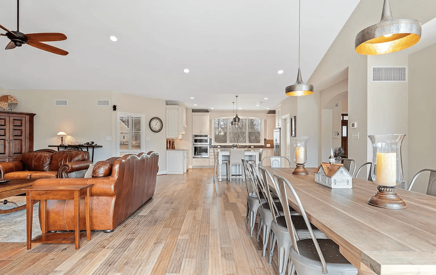 kennett square craftsman house for sale main living area