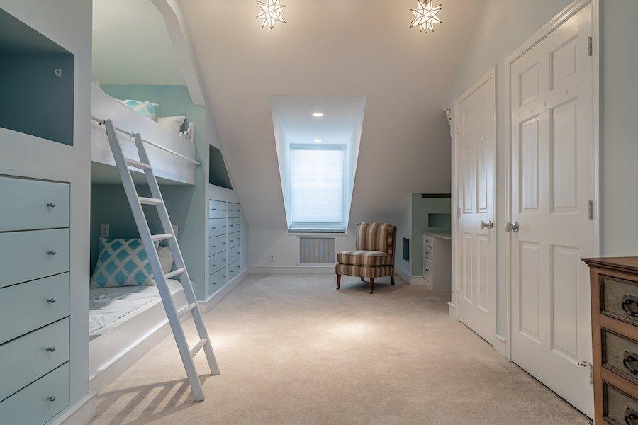 fourth-floor bedroom