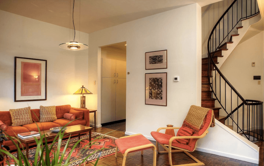 society hill bingham court townhouse for sale living room