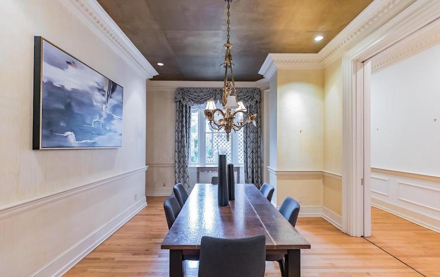society hill federal townhouse for sale dining rooml