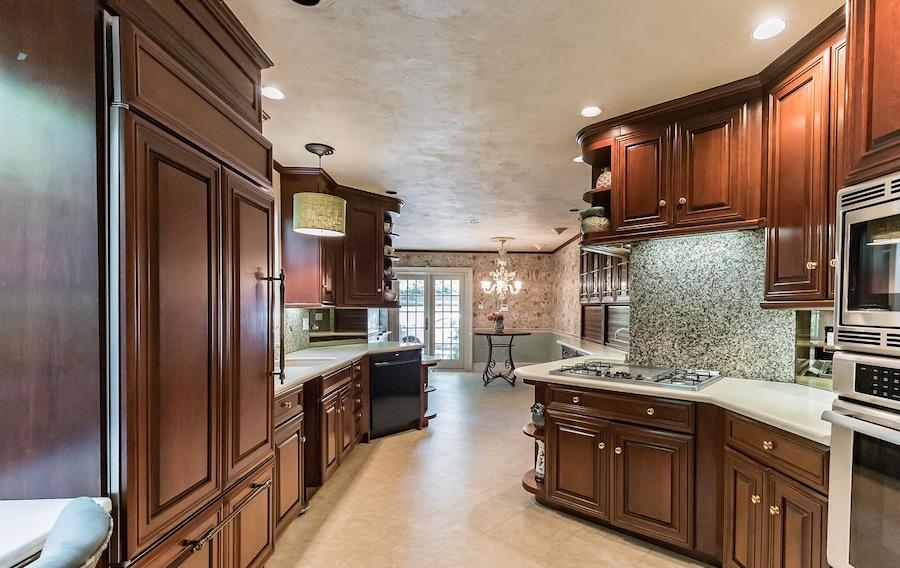 society hill federal townhouse for sale kitchen