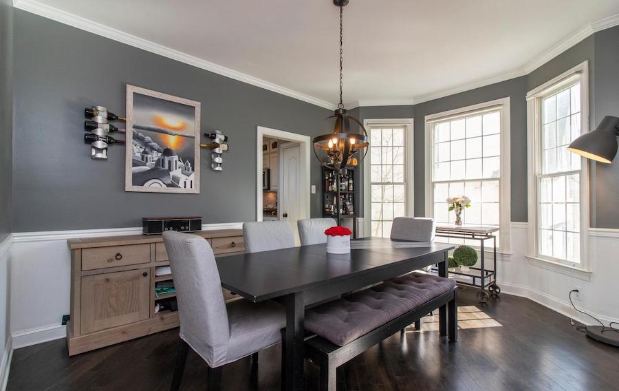 west conshohocken french colonial house for sale dining room