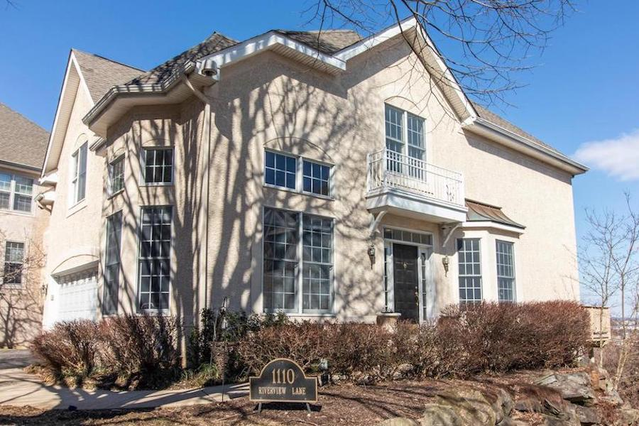 west conshohocken french colonial house for sale exterior front and side