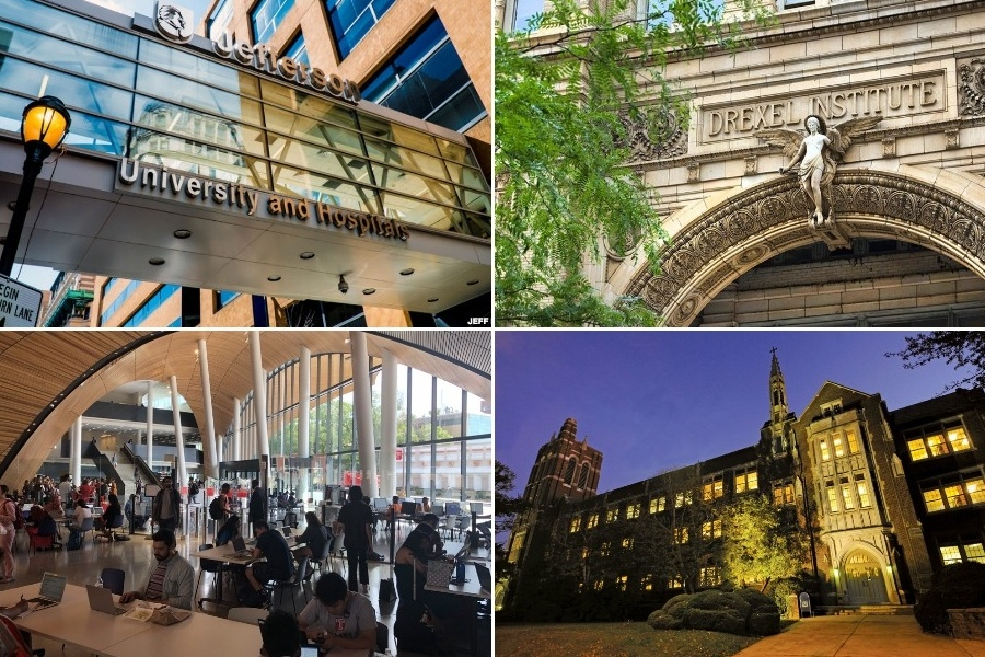 philly colleges fall semester