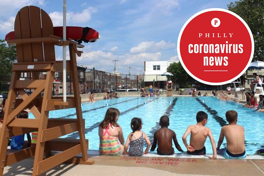 A Philadelphia public pool that likely won't be open this summer thanks to proposed coronavirus cutbacks.
