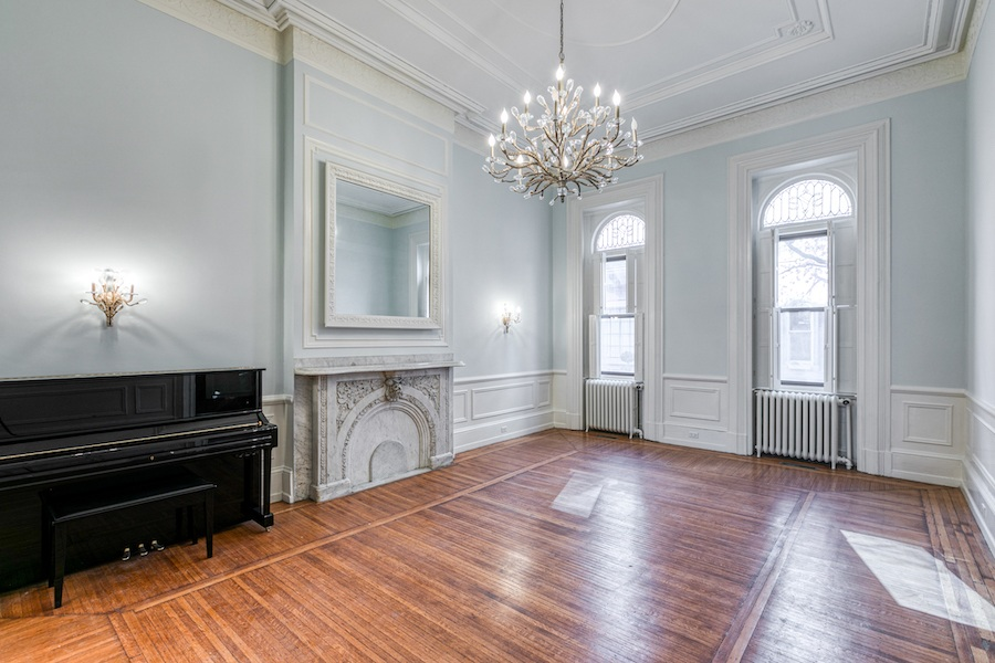 restored rittenhouse square brownstone townhouse for rent