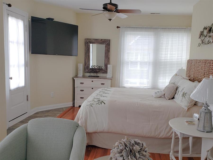 restored cape may beach block house for sale master bedroom
