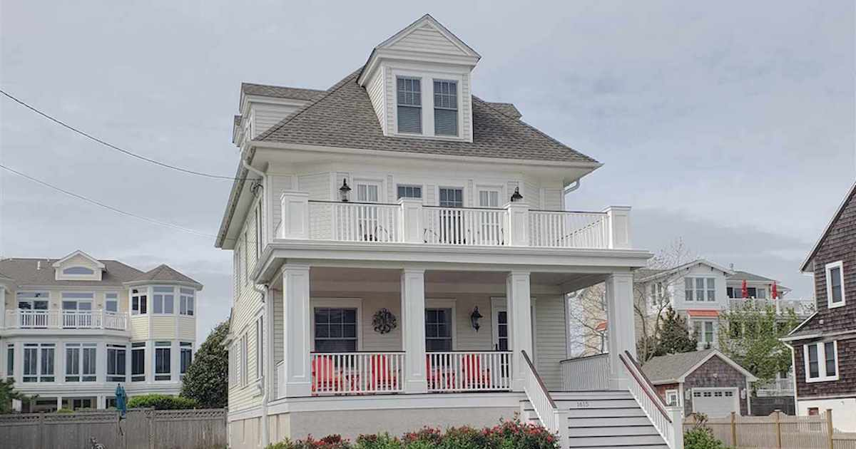 Renovated Beach Block House in Cape May...