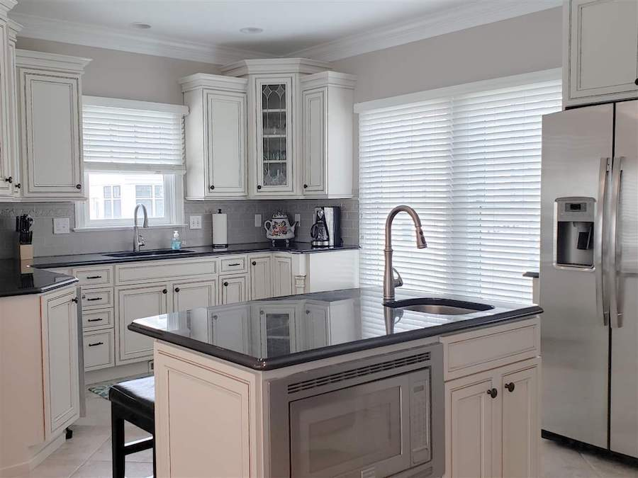 restored cape may beach block house for sale kitchen