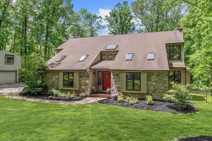 downingtown contemporary house for sale exterior front