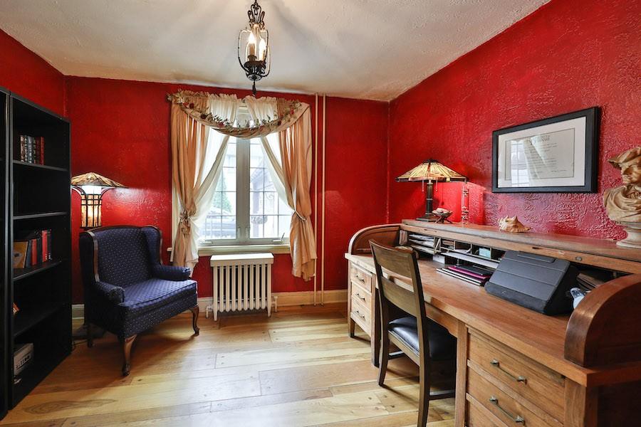 drexel hill tudor revival house for sale study