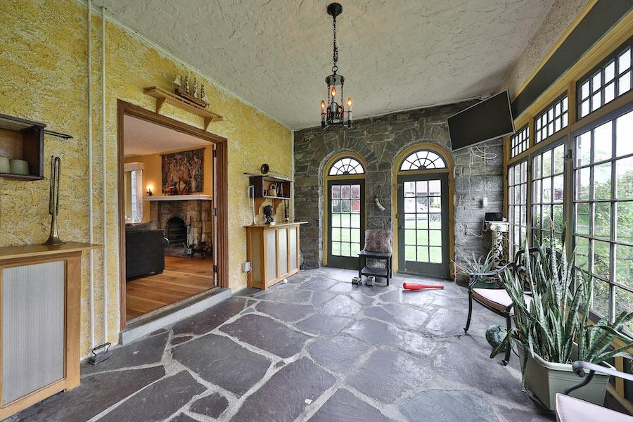 drexel hill tudor revival house for sale sunroom