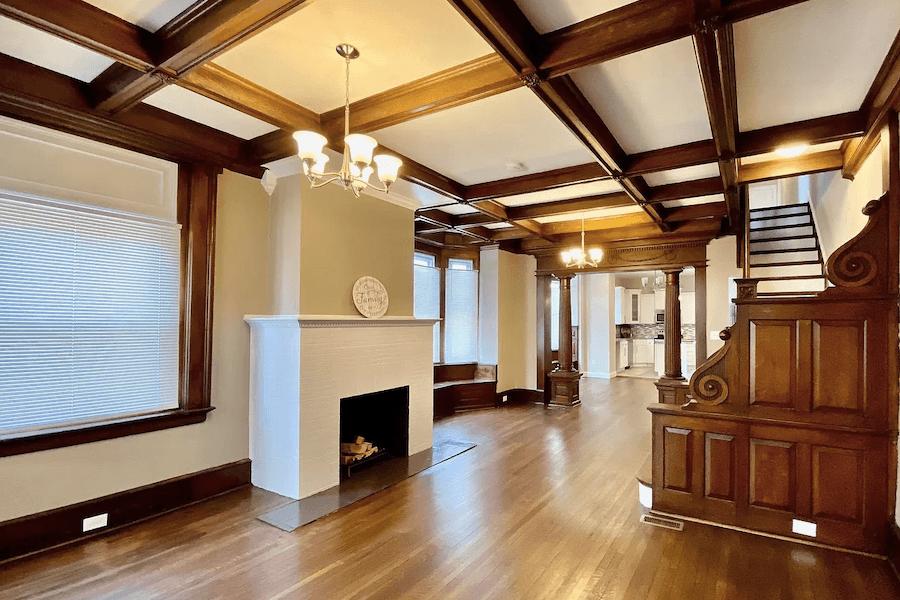 rehabbed germantown rowhouse for sale main floor