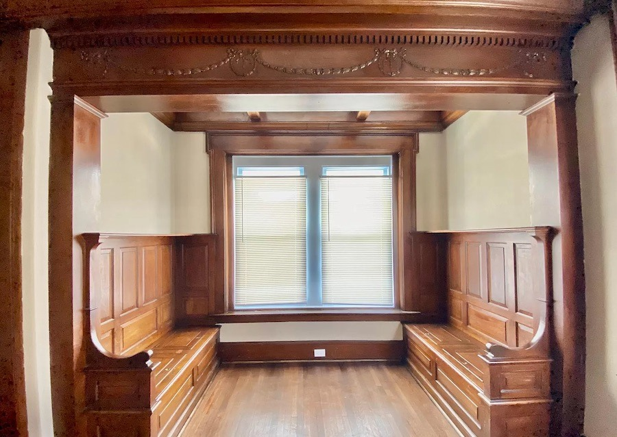 rehabbed germantown rowhouse for sale reading alcove