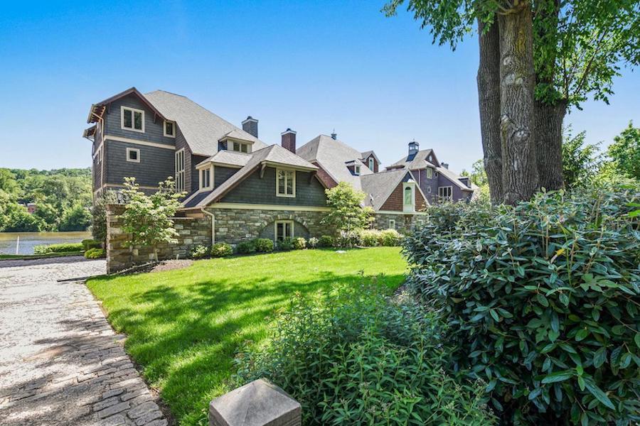 gladwyne riverside house for sale exterior front