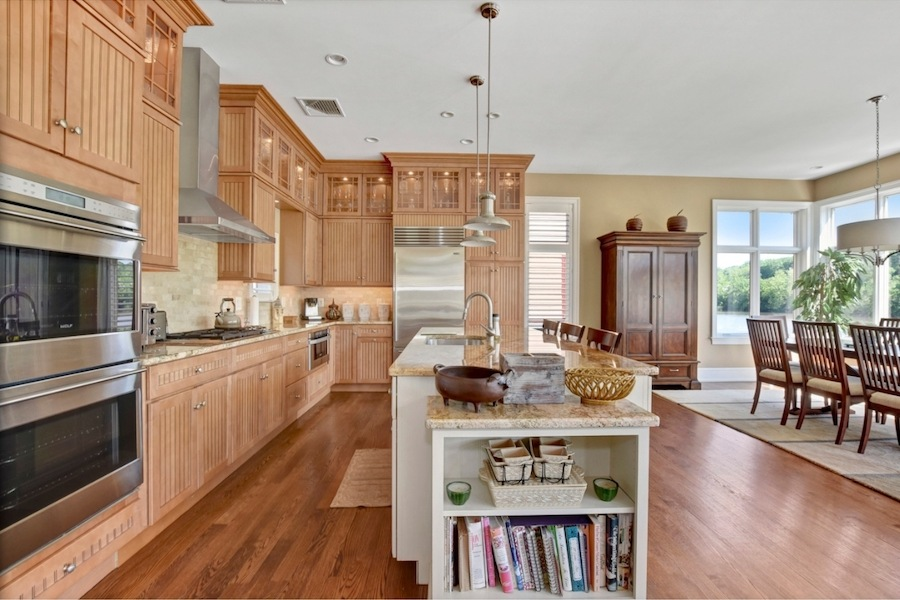 gladwyne riverside house for sale kitchen and dining room