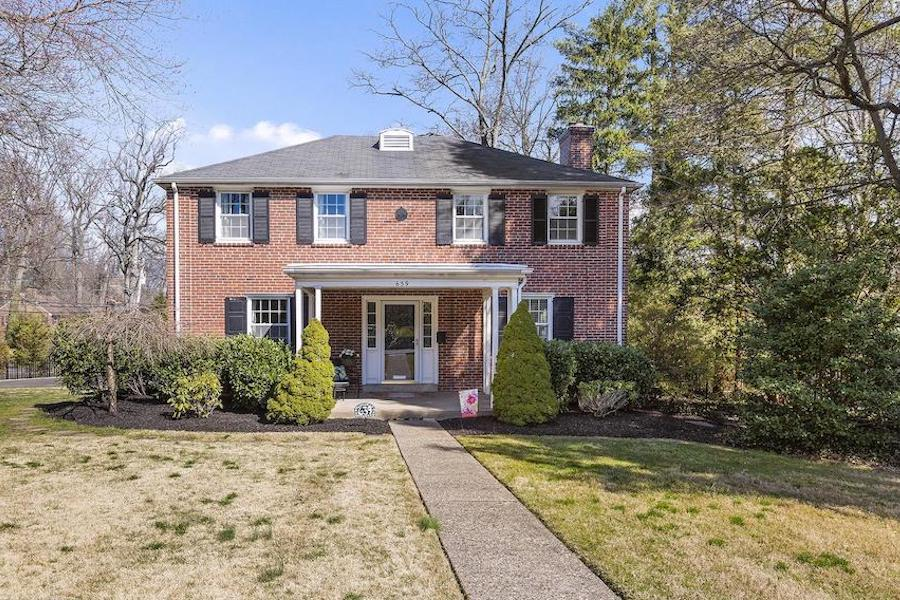 colonial glenside house for sale exterior front