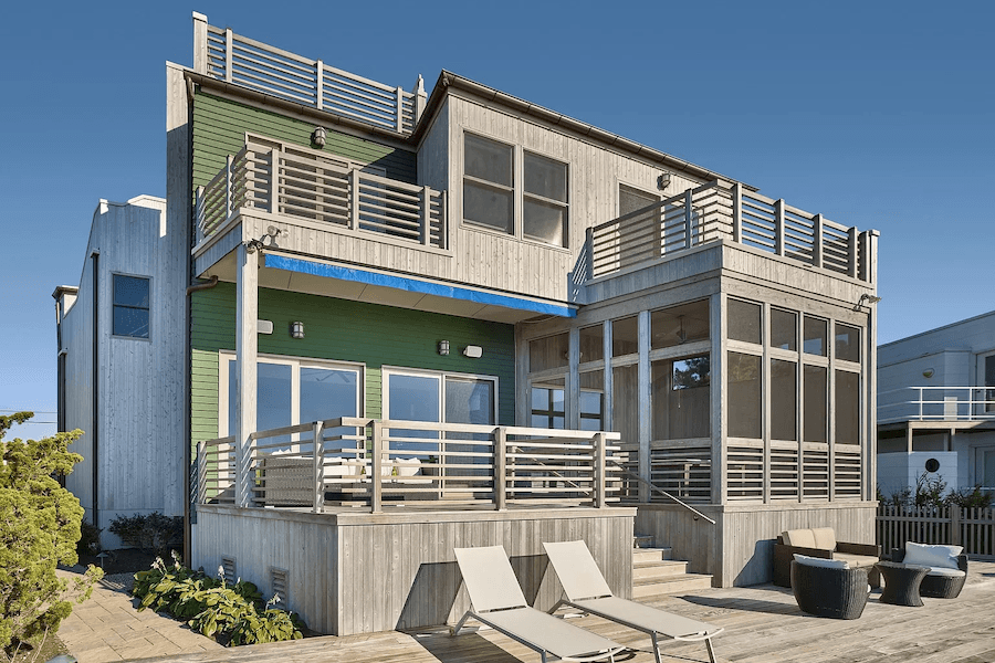 harvey cedars bayside contemporary house for sale exterior front