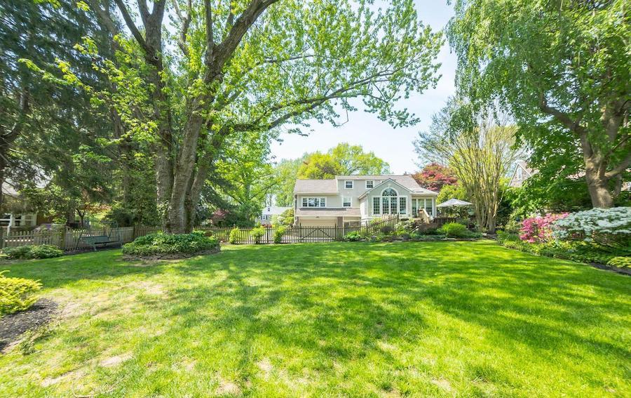 haverford split-level cape cod house for sale backyard