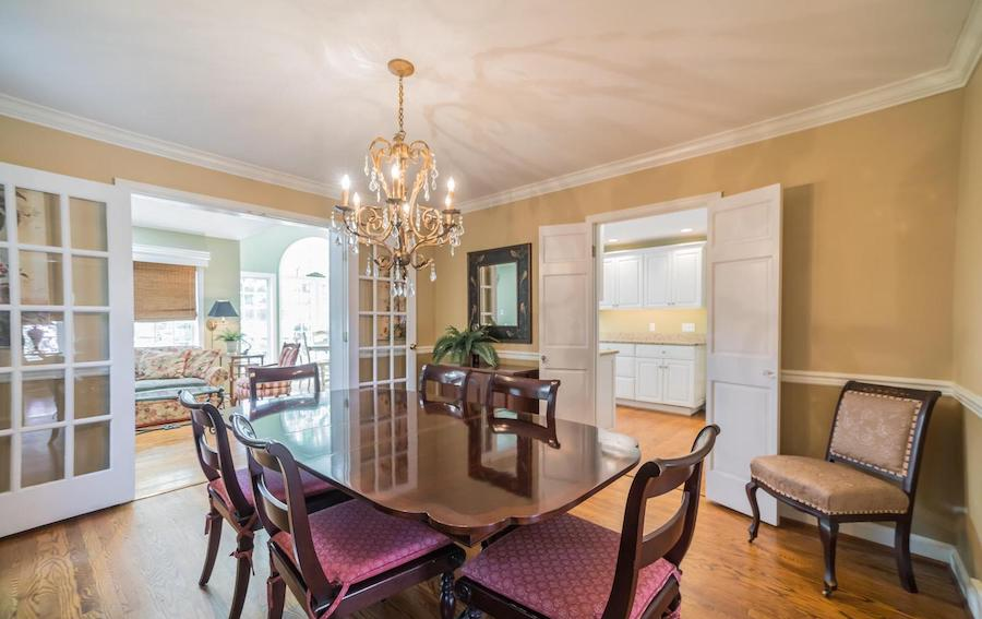 haverford split-level cape cod house for sale dining room