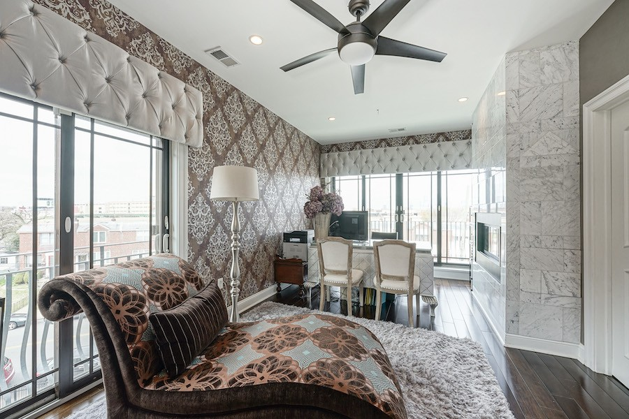 master suite lounge/home office